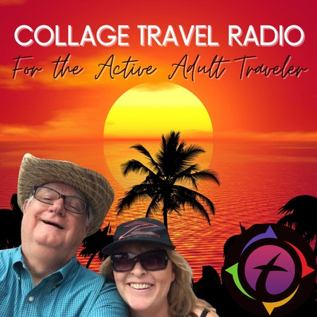 Collage Travel Radio for the Active Adult Traveler
