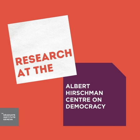 Research at the Albert Hirschman Centre on Democracy
